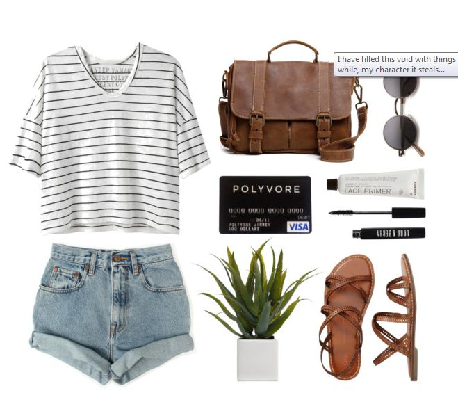 Fresh Outfit Idea for Summer Would love to pair this shirt with a pair of capris.