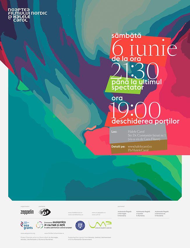 noaptea filmului nordic poster