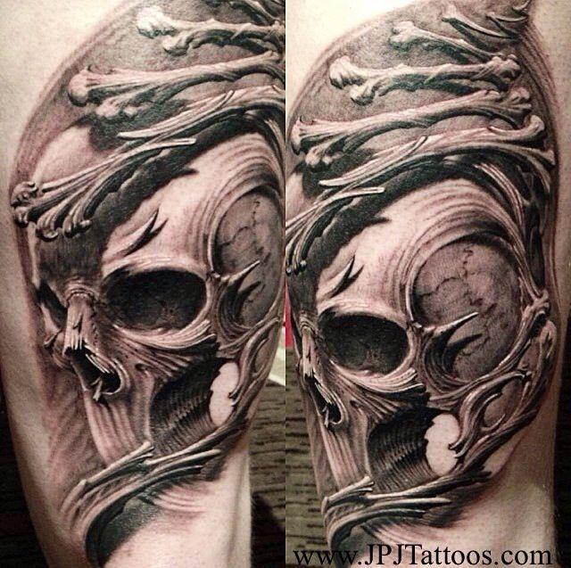 Pencil Drawings Of Skulls And Roses