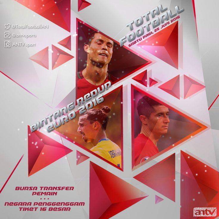 Design Graphic,instagram, Total Football, highlight, antv, Euro2016