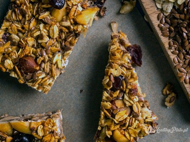 nutty oat bar / barra de avena de avellanas