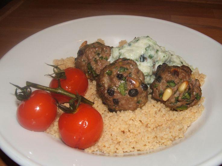 Morrocan Lamb Meatballs