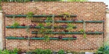 copper vertical garden - contemporary - landscape - perth - sustainable garden design perth