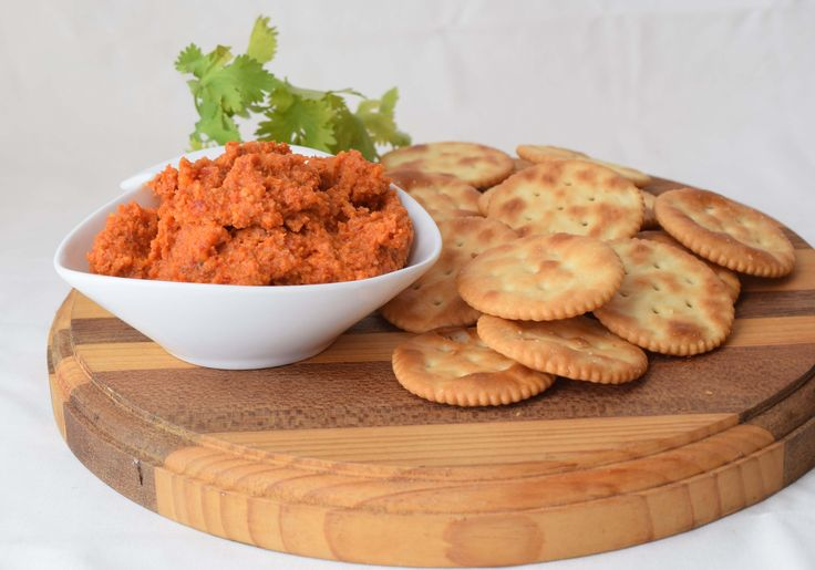 Capsicum and Sun-dried tomato Dip - Powered by @ultimaterecipe