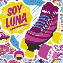 Manta TV Disney Piñata Flannel Diseño Soy Luna