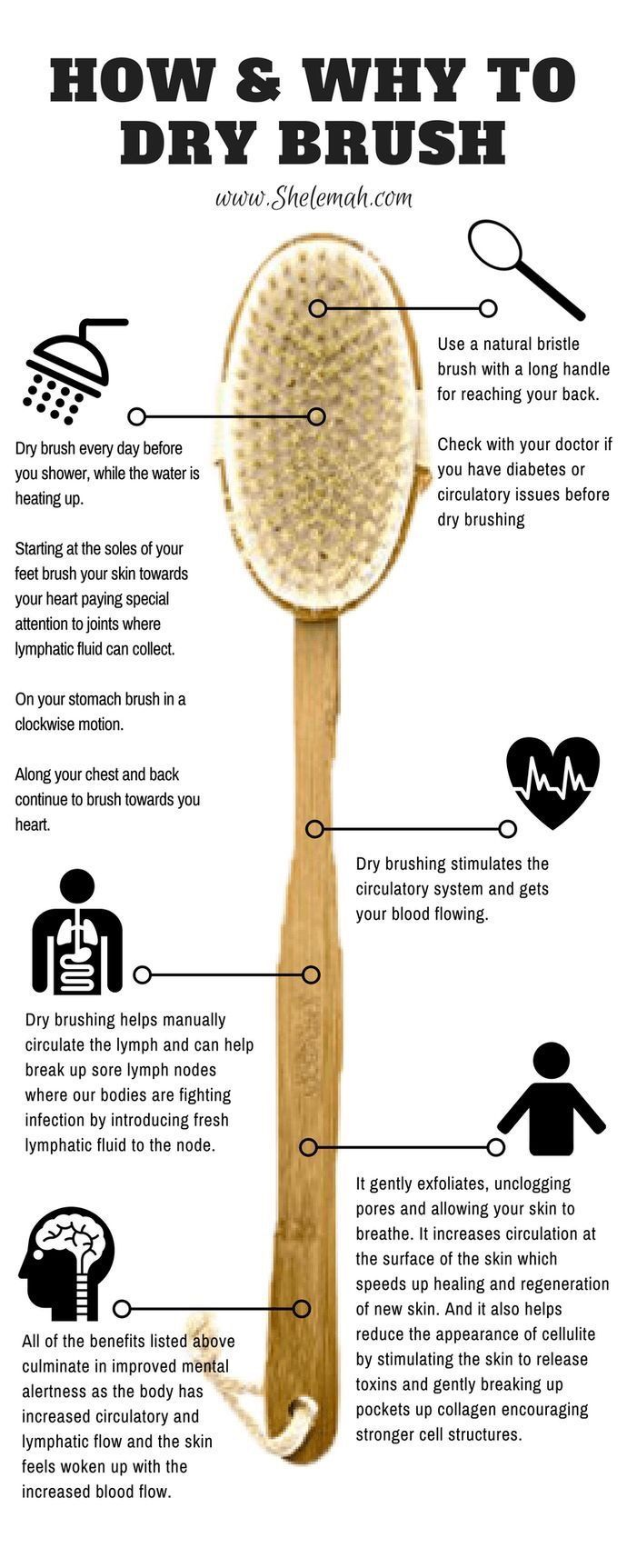 Benefits Of Dry Brushing Exfoliates The Skin By