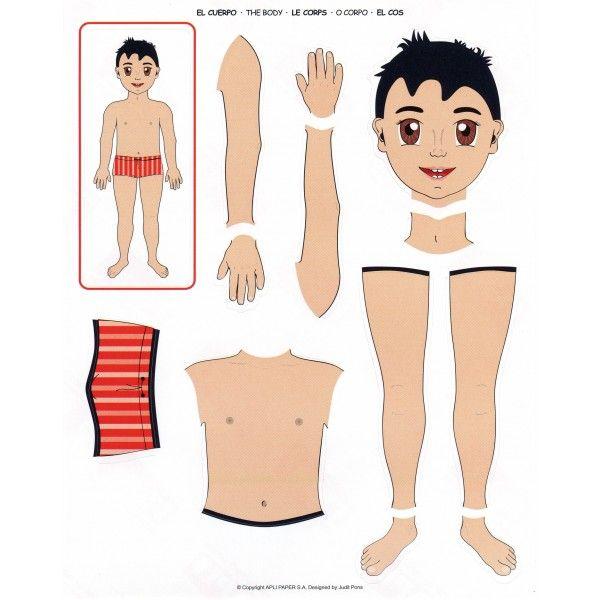 """Comprar Blister 12 hojas Gomets Temáticos """"Cuerpo"""" Apli 11928 #gomets #manualidades #infantil #niños #diversion #cuerpo #niño"""