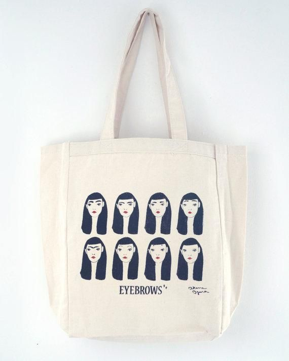 You know something's having a bona fide moment when it takes center stage on a tote bag. #etsyfinds