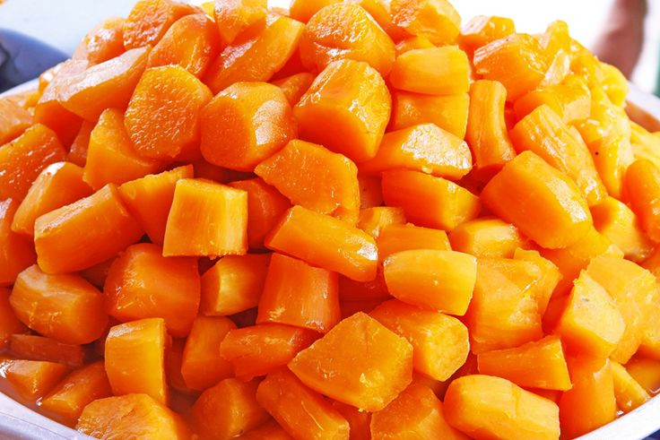 Maple Syrup Candied Sweet Potatoes