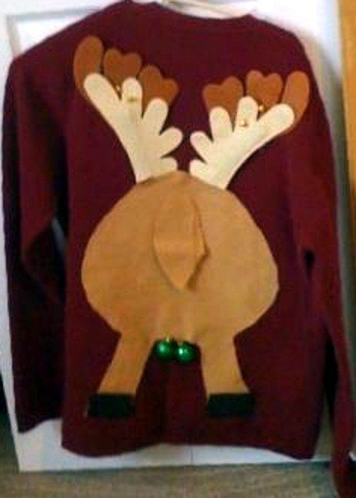 Jingle Balls. | Community Post: 10 Awesome DIY Ugly Sweater Ideas