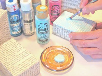 """pinner says...""""Cheap way to make a canvas?""""  . . . what a cool idea!  this would be great for inexpensive crafting . . ."""