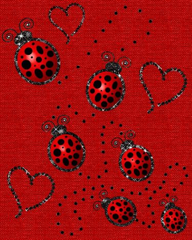 Glitter Graphics: the community for graphics enthusiasts!.......LADYBUGS AND HEARTS GIF