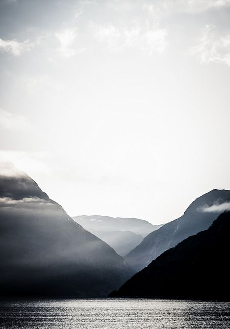 layers upon layers of Scandinavia; Eidfjord, Norway