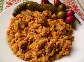 Paprikás krumpli: Bácskai rizses hús