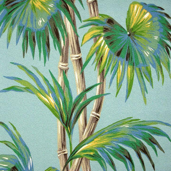 Palm Design Background Textures Pattern Vintage