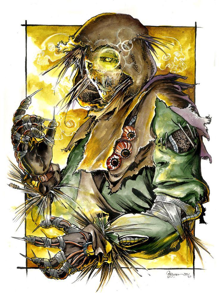 Scarecrow 1 by DanielGovar.deviantart.com on @DeviantArt