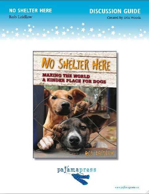 A teaching guide for using No Shelter Here in the classroom