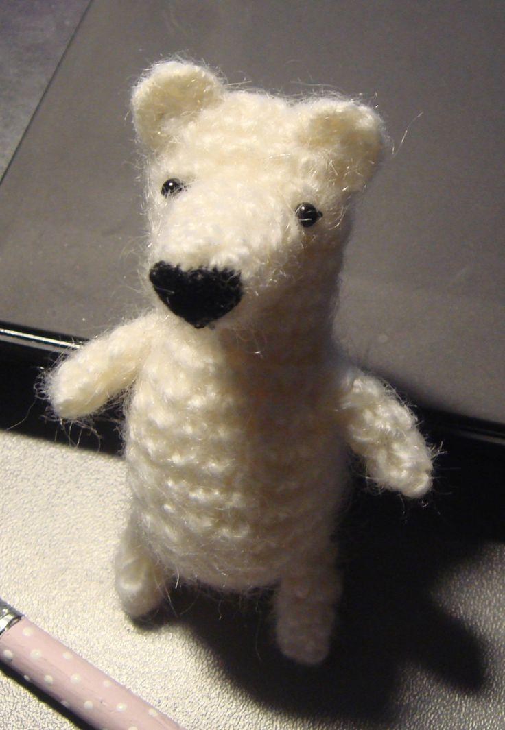 niedźwiadek polarny, szydełkowy