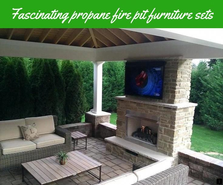 Read Information On Propane Fire Pit Furniture Sets Simply Click Here For More Info Do Not M Outdoor Gas Fireplace Backyard Fireplace Outdoor Covered Patio
