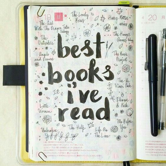 32 Best Bullet Journal Title Page Images On Pinterest
