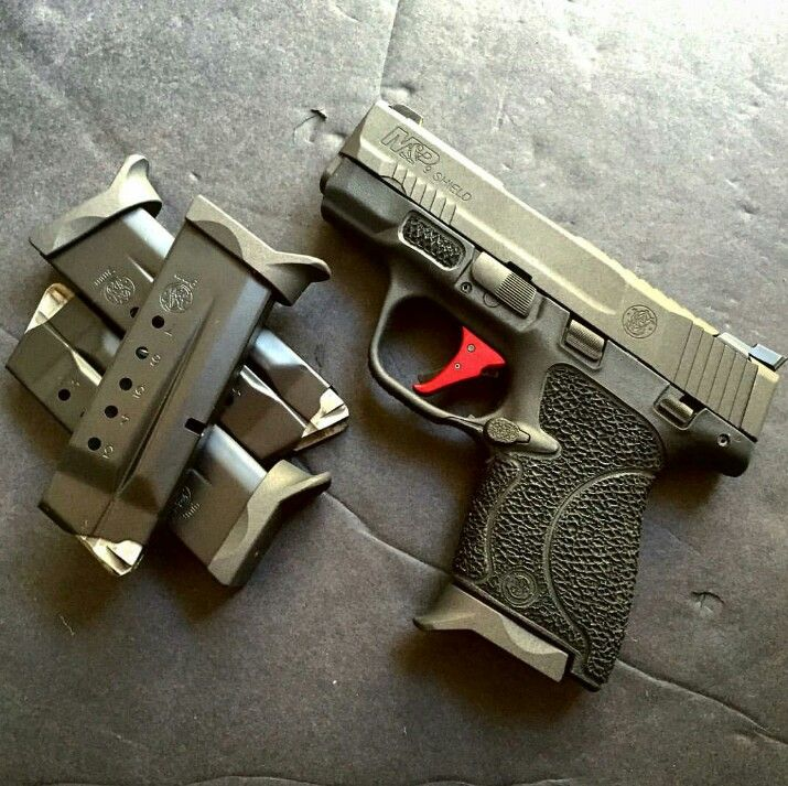 Beautiful Custom M&P Shield 9mm
