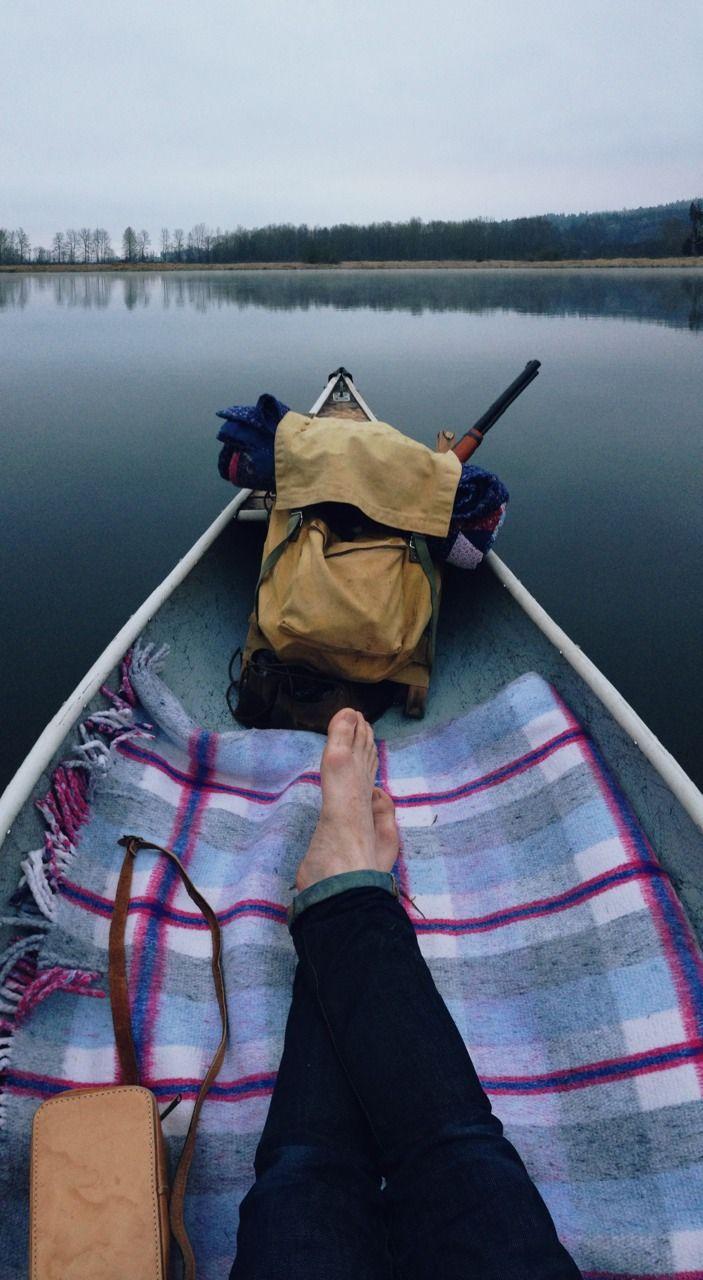 Canoe time.