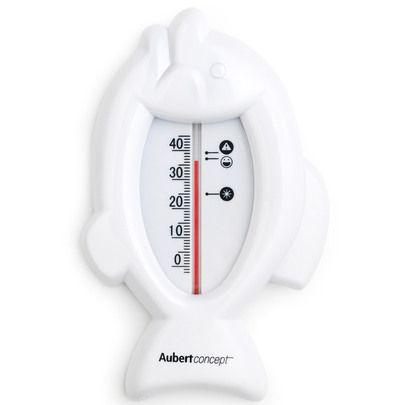 Thermomètre de bain poisson Blanc de Aubert concept