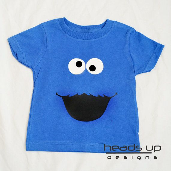 Cookie Monster Tshirt For Kids Boys Cookie Por