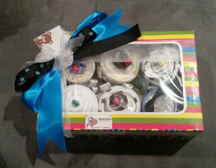 Cupcakes de ropita y pañales