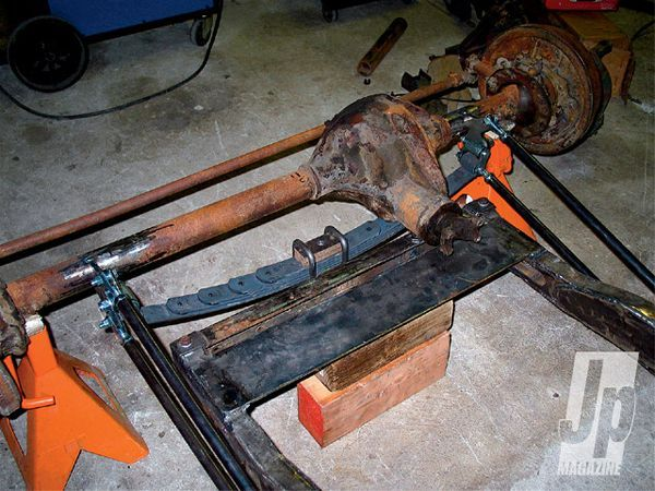 assembling An Old Jeep Frame diff Cover Photo 26432188