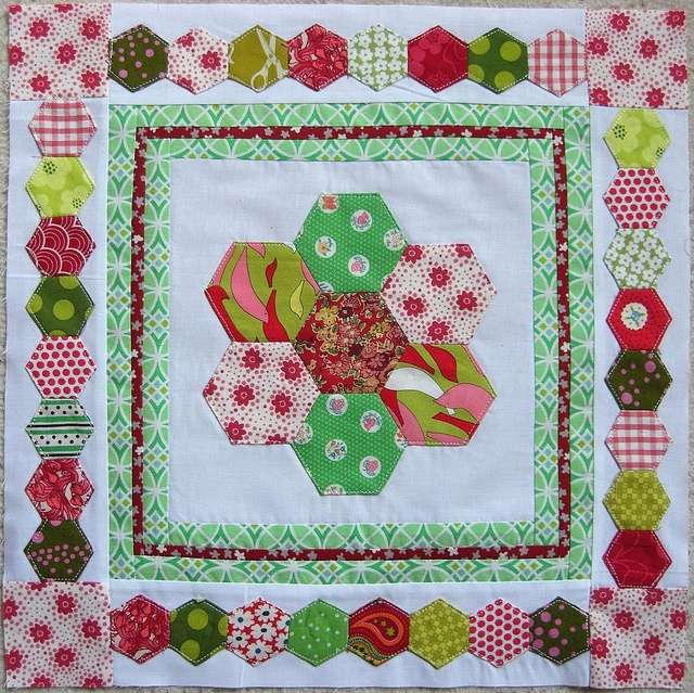 Bee Hexed In - March for Melanie by flossyblossy, via Flickr