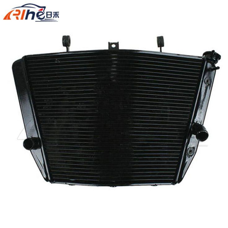 hot selling motorcycle radiator cooler aluminum motorbike radiator black color For SUZUKI GSXR1000 GSXR 1000 2007-2008 #Affiliate