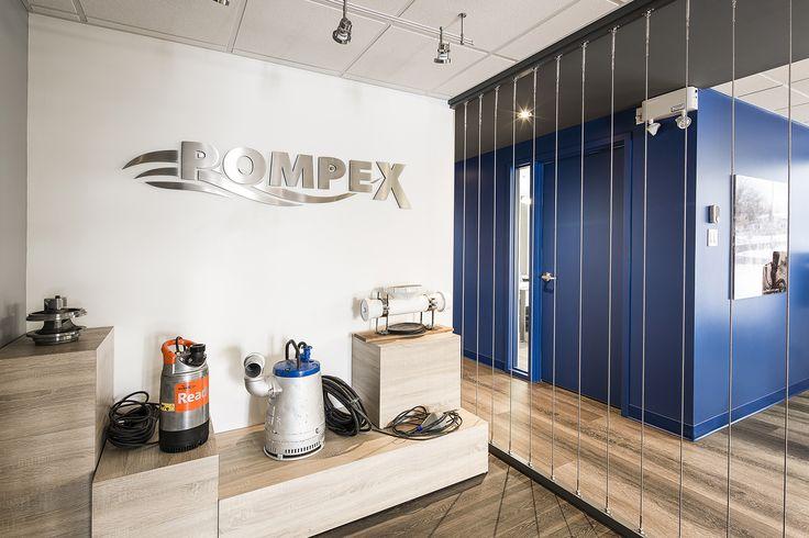 bureaux commerciaux, commercial, entrée, entry, logo, product display