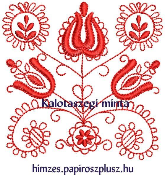 Kalotaszegi hímzésminta 803