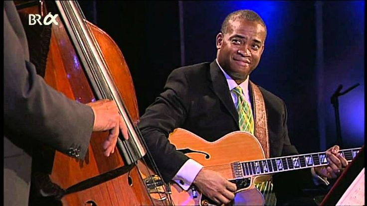 Ron Carter Trio-Jazzwoche Burghausen-2006-Ron Carter bass, Russell Malone guitar, Jacky Terrasson piano.