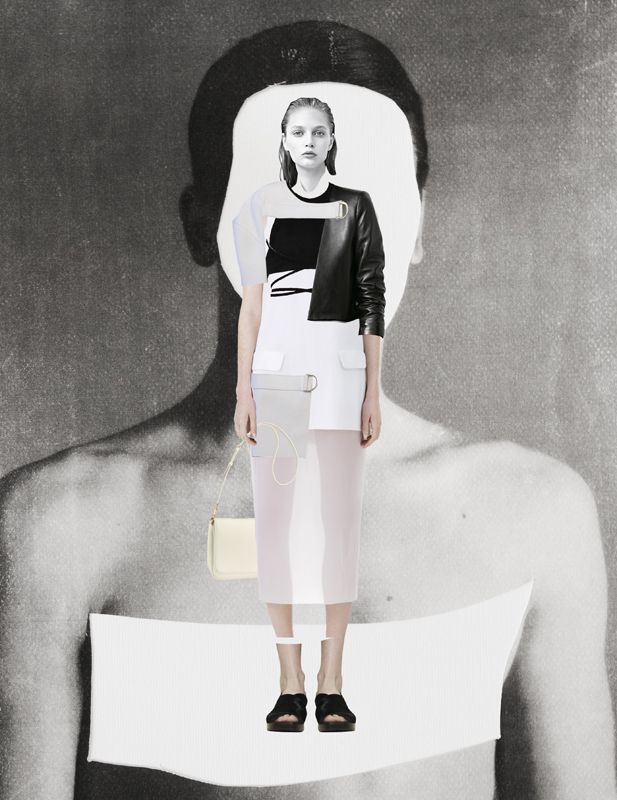 Fashion Sketchbook inspiration; fashion collage; fashion illustration; fashion portfolio // Ernesto Artillo