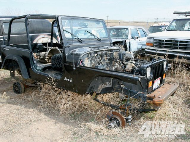 Great Jeep Wrangler Junkyard