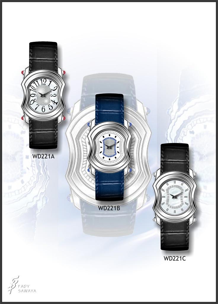 Watch design 2004. Sawaiia.com