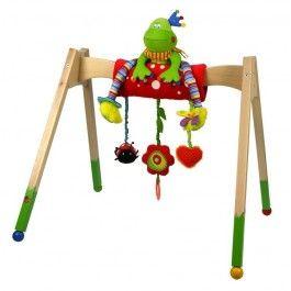 Strak, stijlvol en kleurrijk is de Babygym van Dushi.Bovenop de babygym hang je de leuke kleurrijke activity toy XL van Dushi (meegeleverd!). Heerlijk zal je kindje hieronder liggen te staren, ontdekken en spelen.