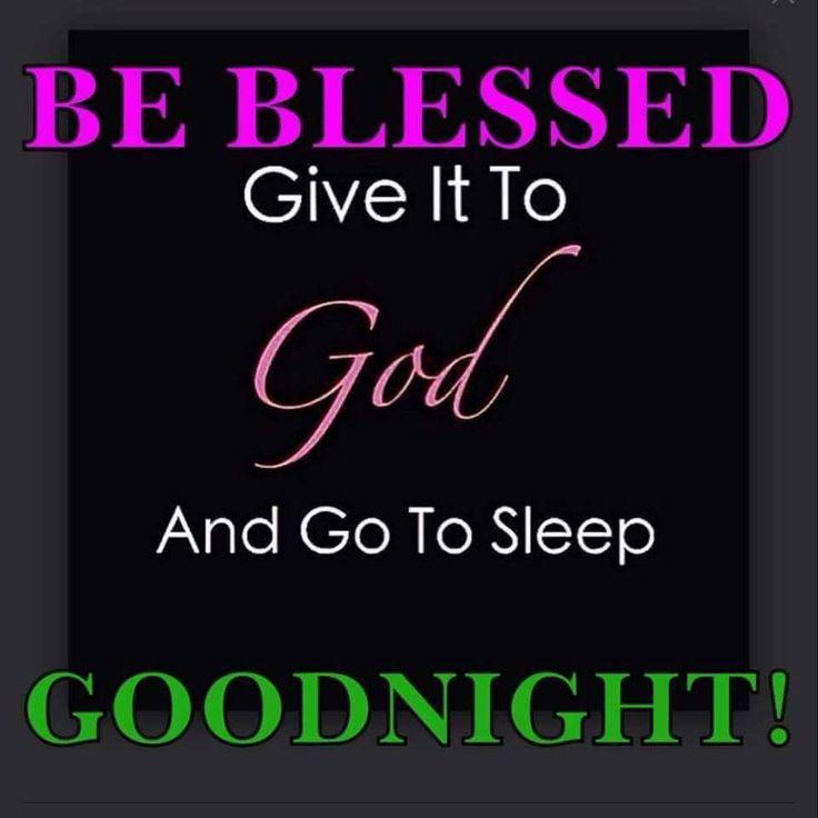 Good Night blessings!