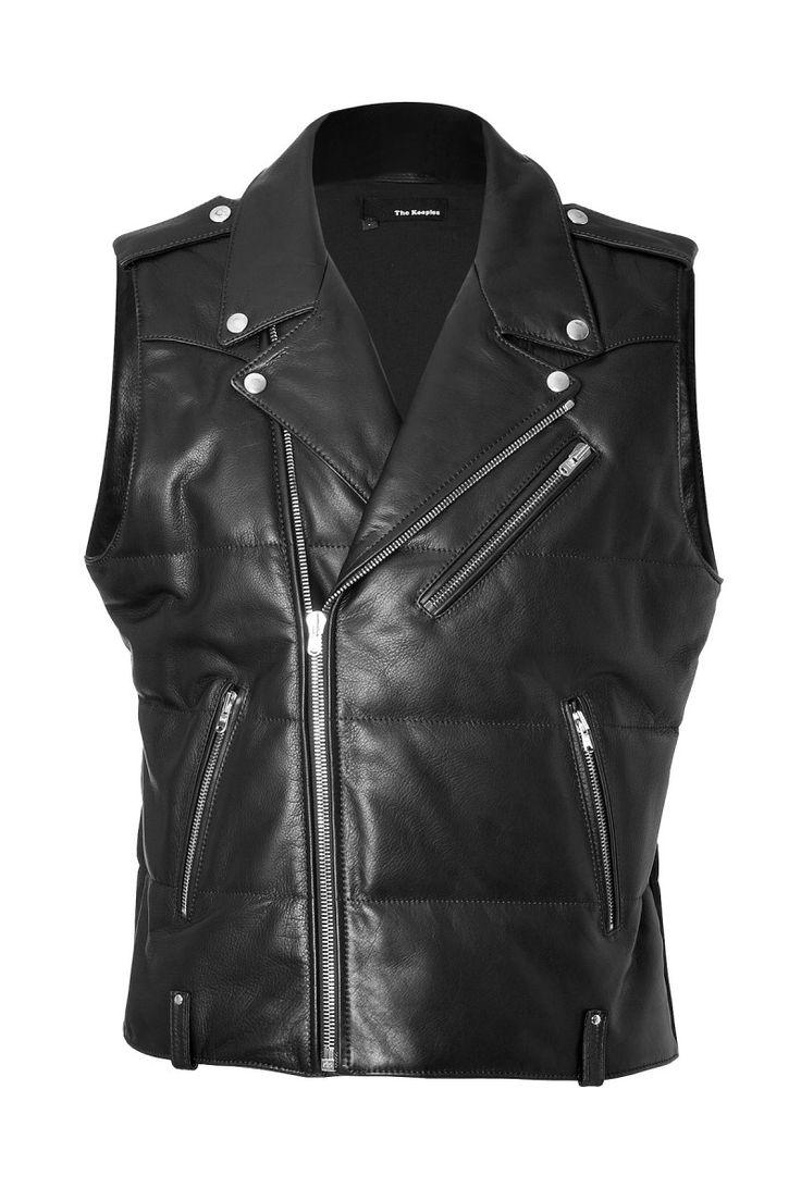 Festival Style: Aaron Taylor Johnson Rocks Leather Biker Vest
