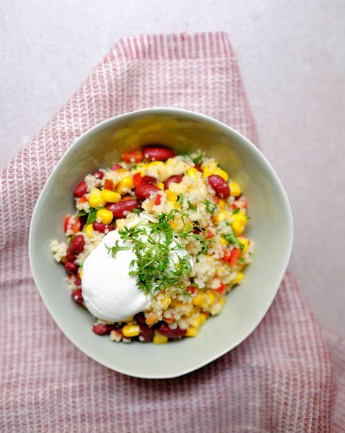 Ingredients    4 tbsp. instant couscous  70 ml boiling water  ½ an apple…