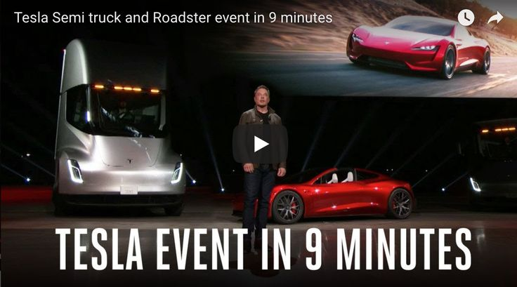 Tesla Semi truck beats fossil fuel trucks - Mike Wall Live - Superfoods, Vegan, Host & LIfestyle