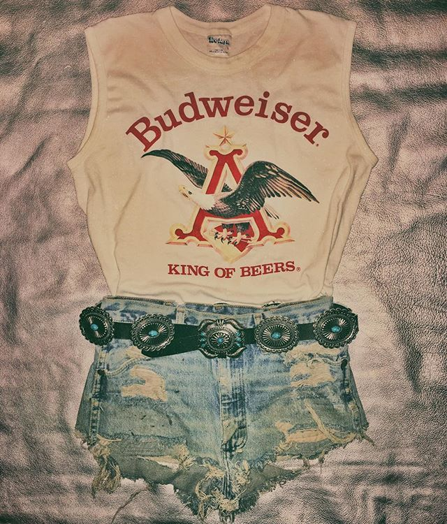 I like the shorts! The shirt's cool too but I'm not big on advertising beer though!