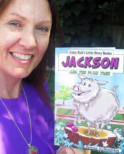 my book for sale $16 artbyira.bigcartel.com/product/jackson-and-the-plum-tree