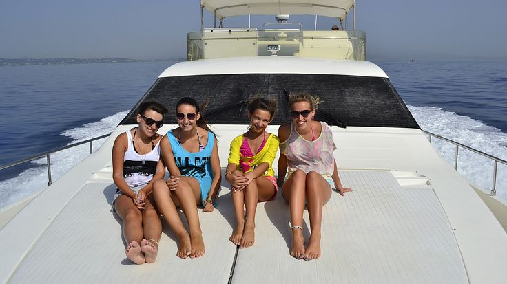 "Delfino Blu's luxurious #yacht ""Volvere""! Unforgettable moments! #Corfu"