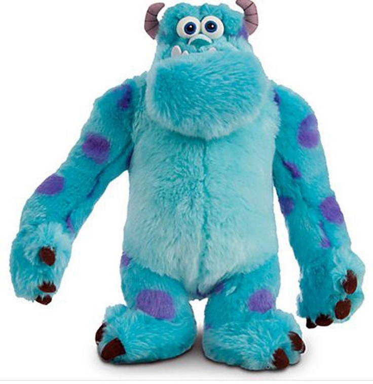 Monsters University Movie Plush Sulley 15 Inch Doll