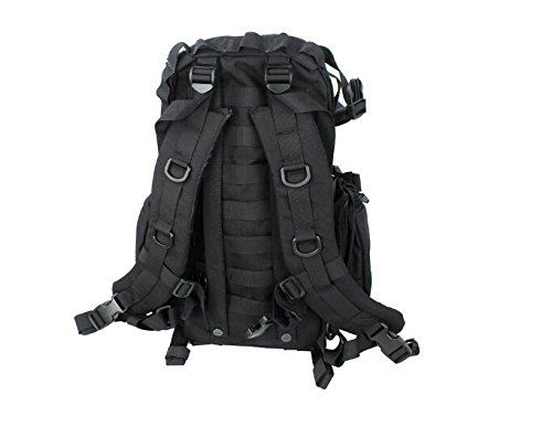 New TMC MOLLE Kangaroo Pack Black Bag for Tactical Airsoft ...