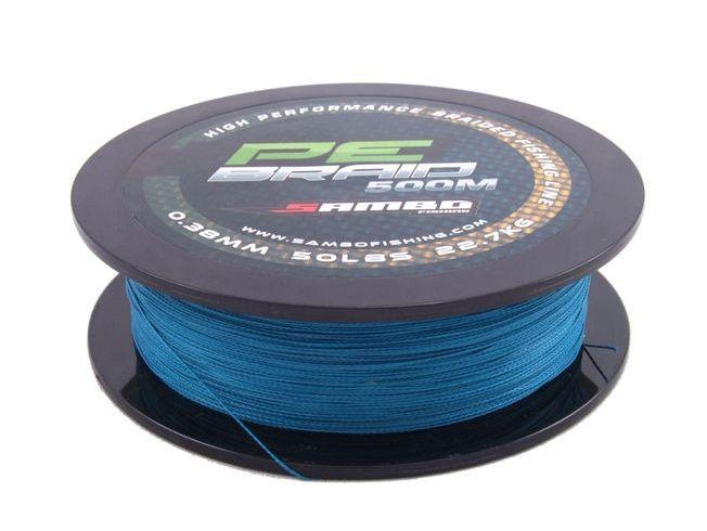 SAMBO 100% PE Braid Fishing Line 300m 20lbs Fluro Blue #sambofishing #fishing #fishingline #fishingtackle