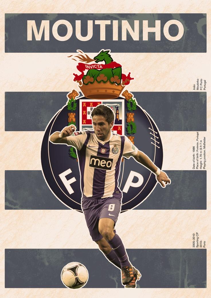 The Moutinho/Porto poster